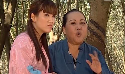 Mẹ chồng và con dâu trong một cảnh phim