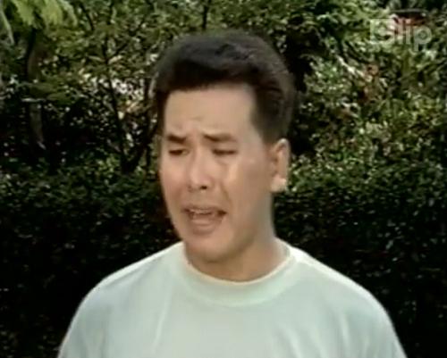 Diễn viên Hữu Nghĩa trong một cảnh phim
