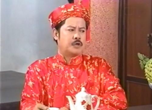 Nghệ sĩ Hoàng Sơn trong một cảnh của Hạnh phúc đầu xuân