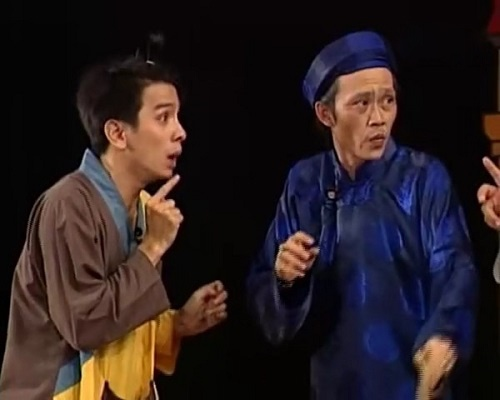 Hòa Hiệp trở thành thằng hầu của Hoài Linh trong 'Quả Đào Lửa'