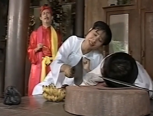 Hồng Vân với vai người vợ trong 'Ma Nhập Chồng Tôi'