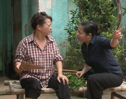 Quang Tèo trong Nhịn Điện