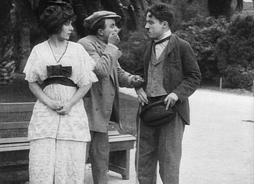 Phân cảnh với ba nhân vật chính của phim ''Twenty Minutes of Love''