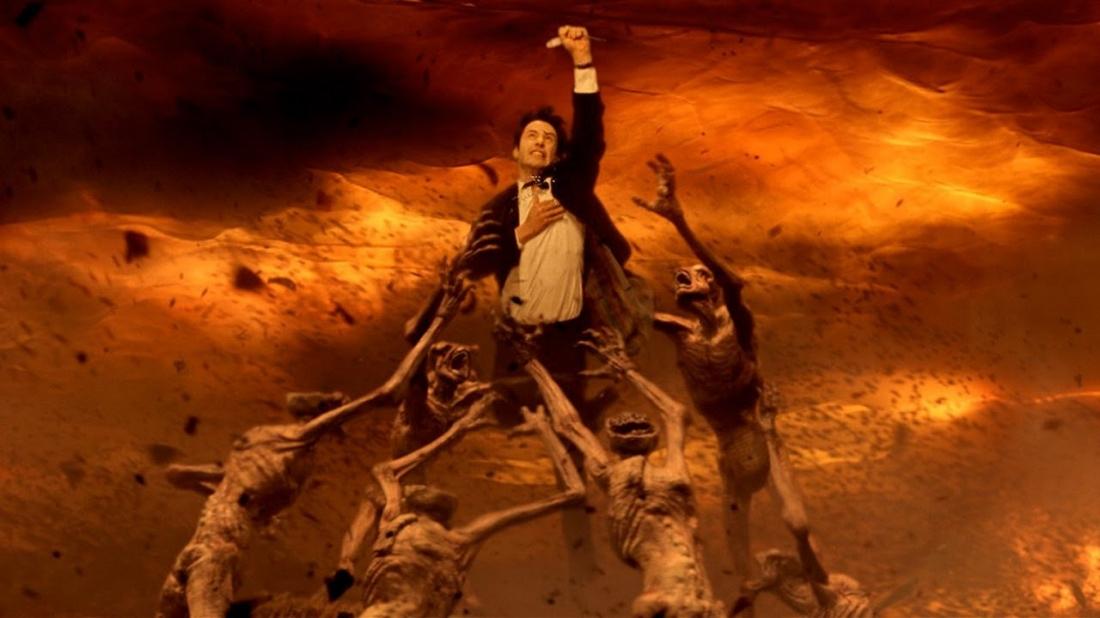 John Constantine trong một lần xuống địa ngục
