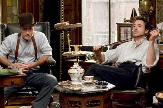 Robert Downey Jr. trở thành thám tử lừng danh trong phim 'Sherlock Holmes'
