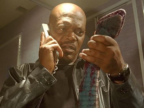 Samuel L. Jackson vào vai đặc vụ FBI trong phim 'Snakes On a Plane'