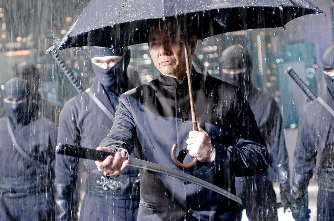 Một phân cảnh trong ''Ninja Assassin''