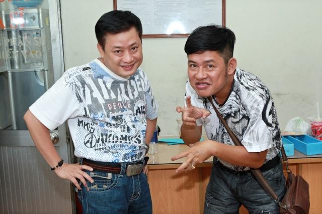 Hai diễn viên Tấn Beo - Tấn Bo