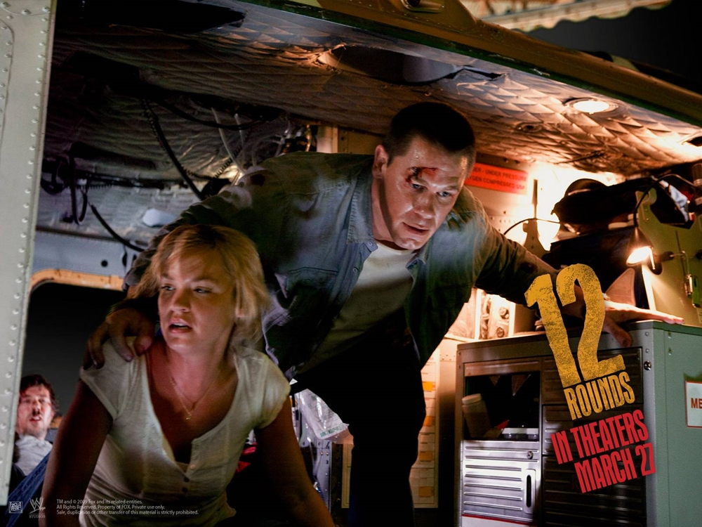 Một phân cảnh nghẹt thở trong phim ''12 Rounds''