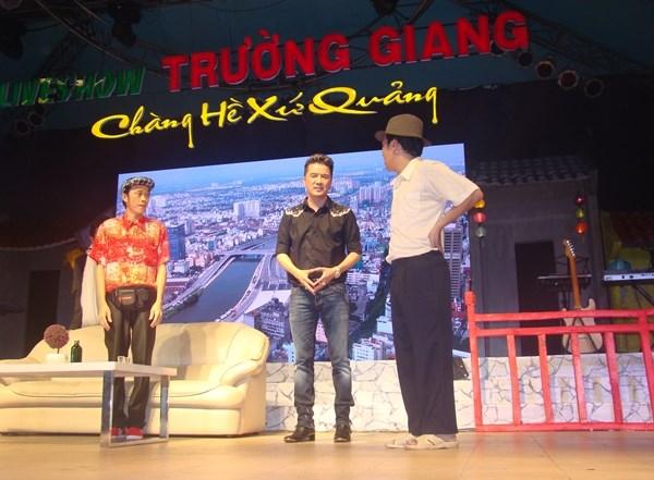 Một cảnh trong Liveshow