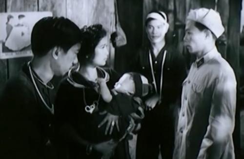 Một phân cảnh trong phim ''Lửa Rừng''