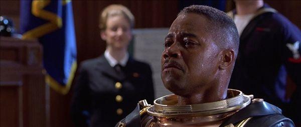 Hình ảnh nhân vật Carl Brashear  trong phim.