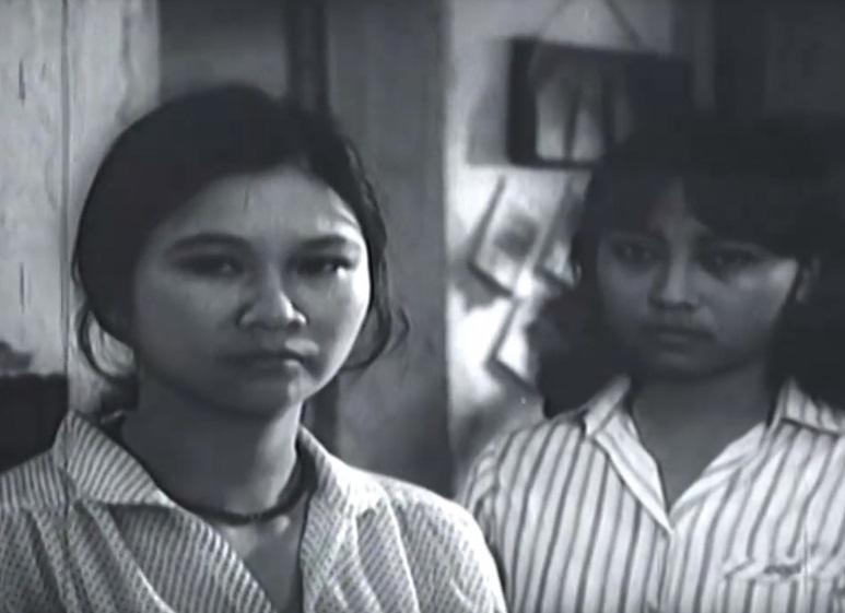 Nghệ sĩ Diệu Thuần thời trẻ trong phim 'Thị Trấn Yên Tĩnh'