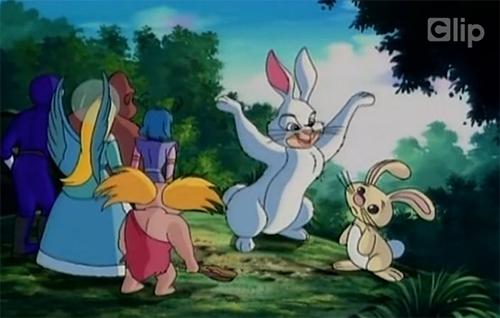 Một phân cảnh khác trong phim hoạt hình ''The Great Easter Egg Hunt''