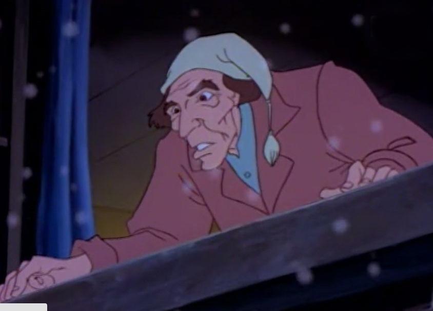 Ông Ebenezer Scrooge trong đêm giáng sinh gặp ma