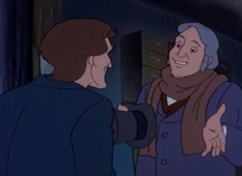 Sự tham lam của Ebenezer Scrooge khiến hàng xóm phát hoảng