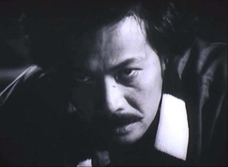 Nghệ sĩ Hà Trọng trong một cảnh phim