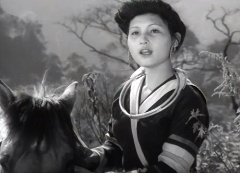 Vẻ đẹp tự nhiên của nhân vật nữ chính trong phim ''Đường suối cạn''