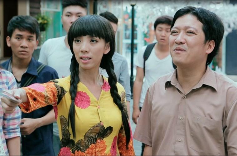 Thu Trang và Trường Giang trong tiểu phẩm
