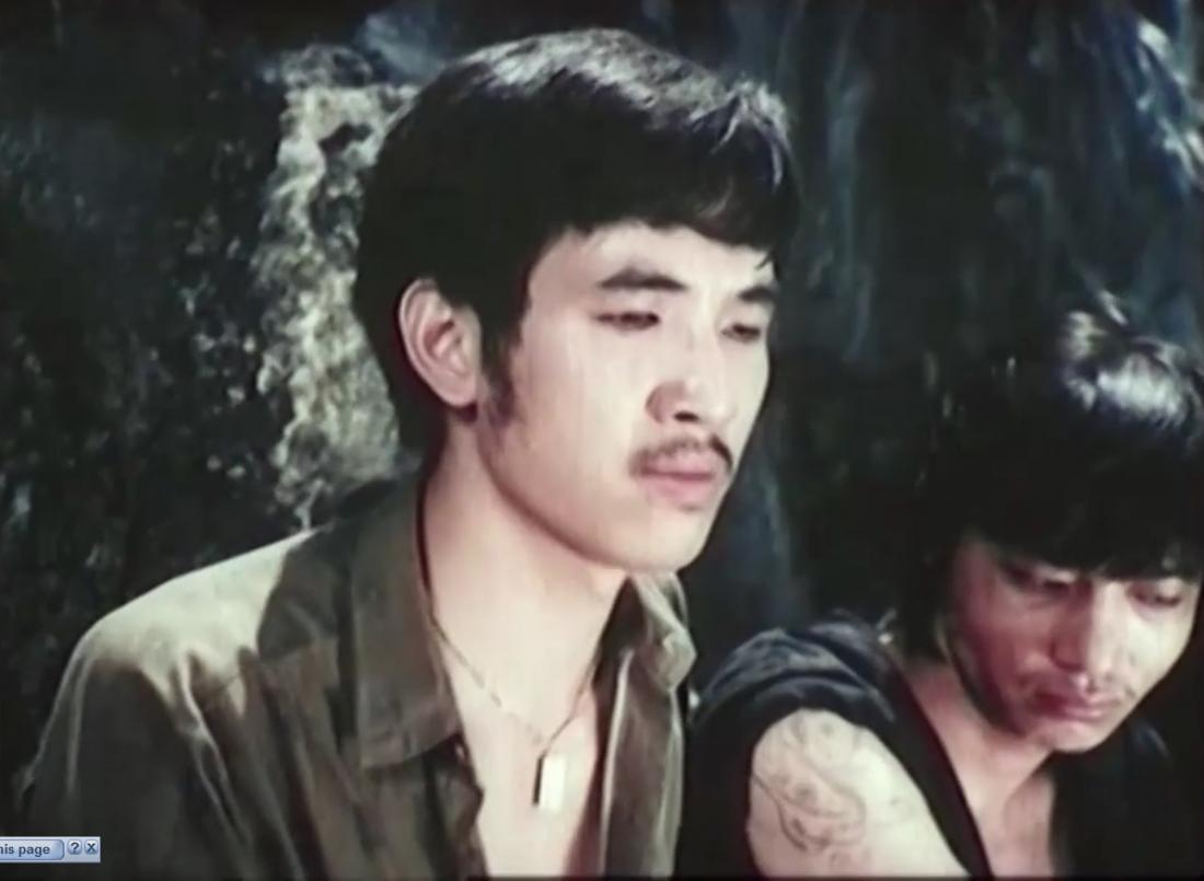 """Diễn viên Bùi Thạc Chuyên trong """"Truy Lùng Băng Quỷ Gió""""."""