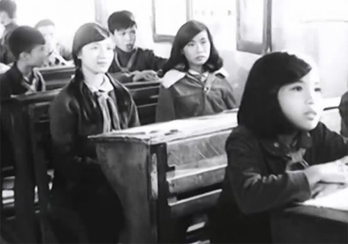Một tiết học trong lớp của cô giáo Vân.