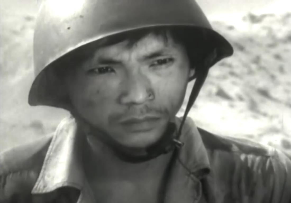 """Diễn viên Trung Anh trong phim """"Đồng Đội"""""""