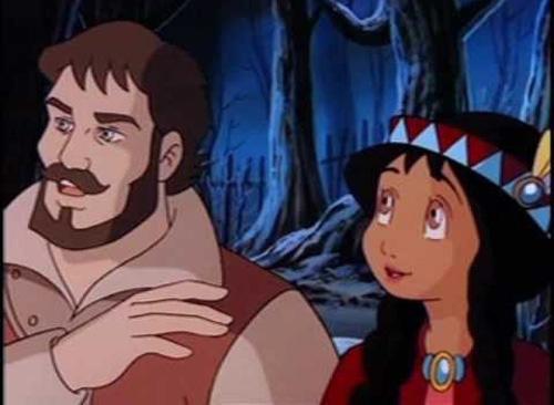 Bộ phim kể về cuộc đời của một công chúa con gái của tù trưởng người da đỏ - Pocahontas.