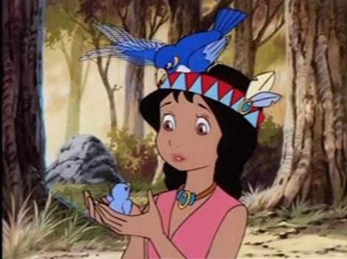 """Một cảnh trong phim """"Pocahontas"""""""