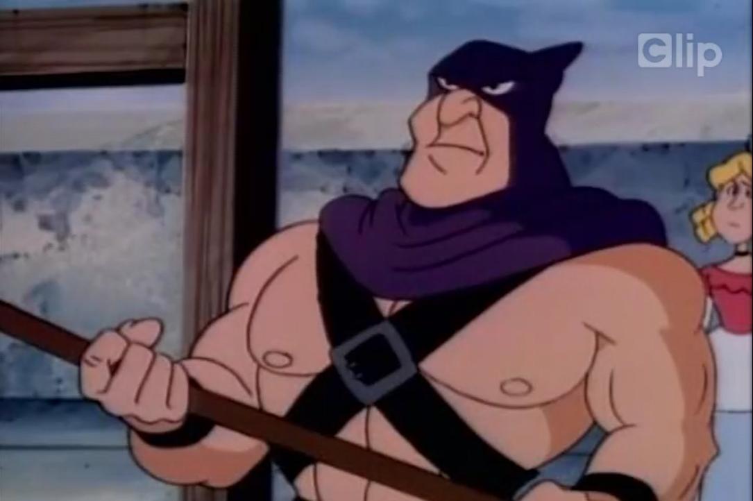 Một cảnh trong phim hoạt hình ''Ba Chàng Lính Ngự Lâm''