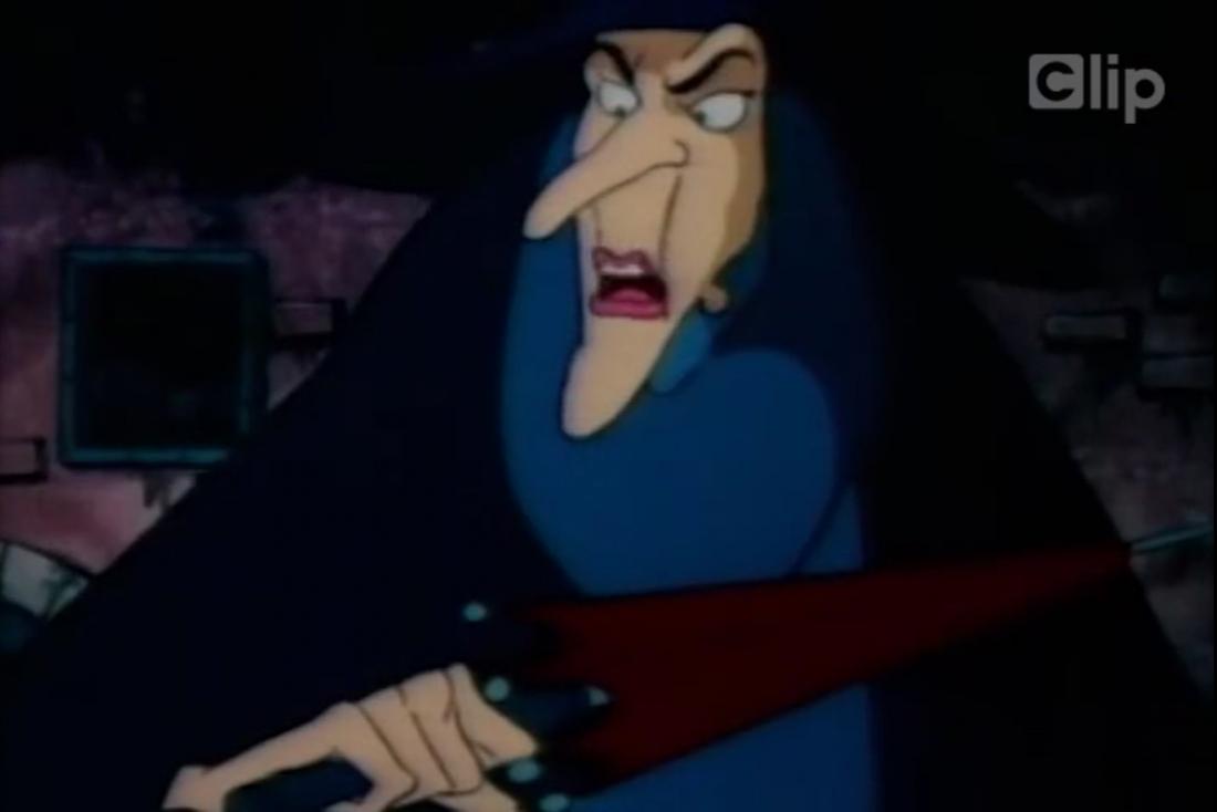 Mụ phù thủy trong ''TheWizardofOz''
