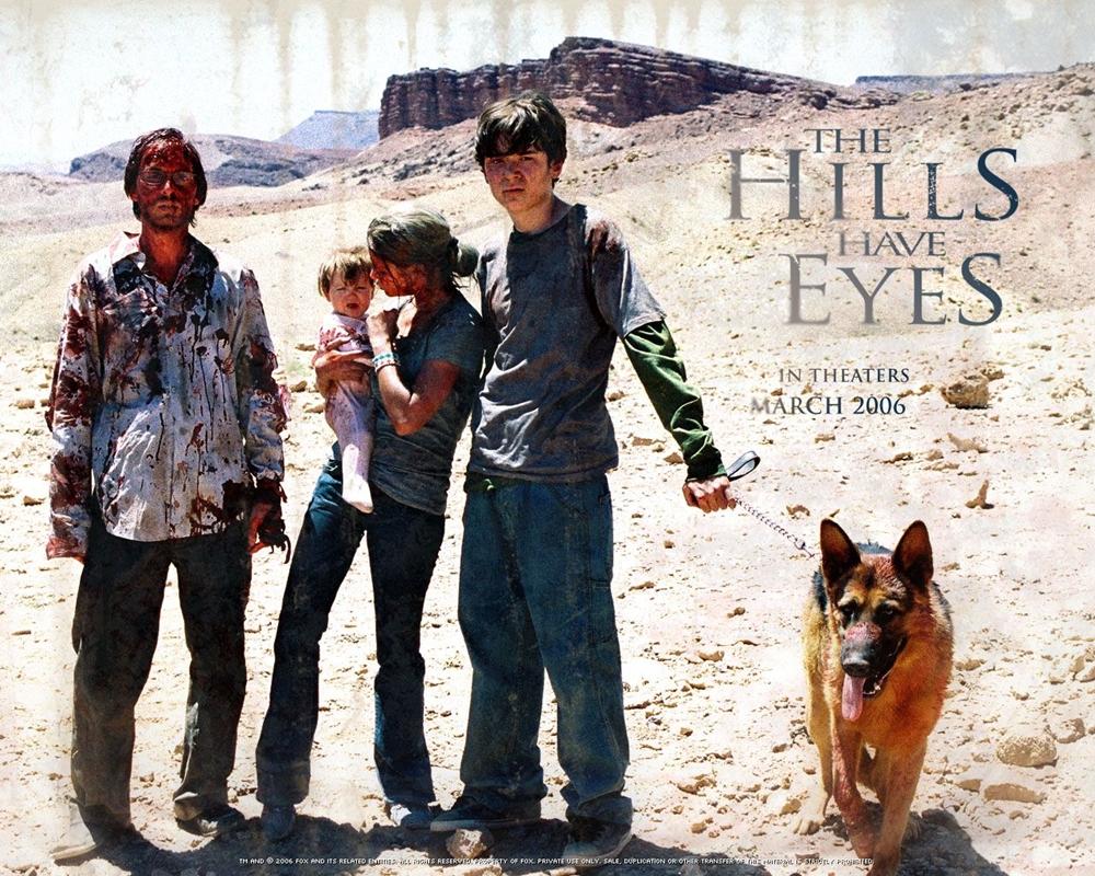Chuyến du lịch yên bình của gia đình Carter bỗng trợ thành thảm họa trong phim ''The Hills Have Eyes''