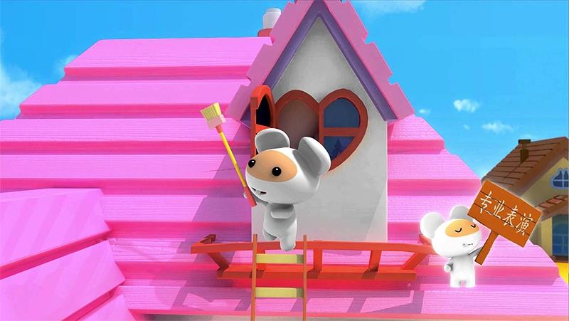 Chuột Benrat và bạn trong bộ phim cùng tên.