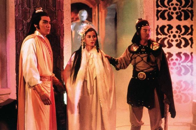 Trương Vô Kỵ và vợ chồng công chúa Mông Cổ.