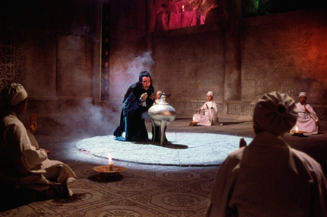 Tống Thanh Thư giả trúng độc, đến núi Nga Mi để lừa Chu Chỉ Nhược lấy Cửu Âm Chân Kinh.