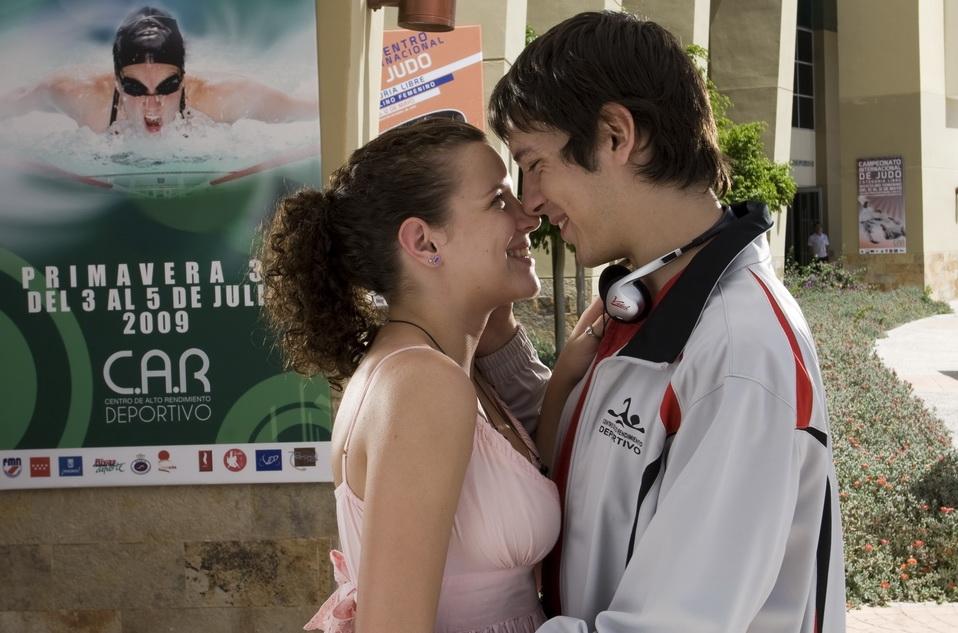 Carlota và Oriol trong ''The Diary Of Carlota''.