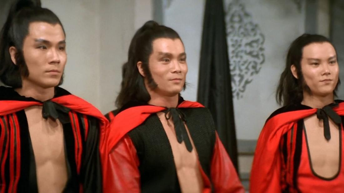 Ba huynh đệ Thiết Hổ Tào Phong, Thiết Báo La Tín và Thiết Hầu Viên Lang.