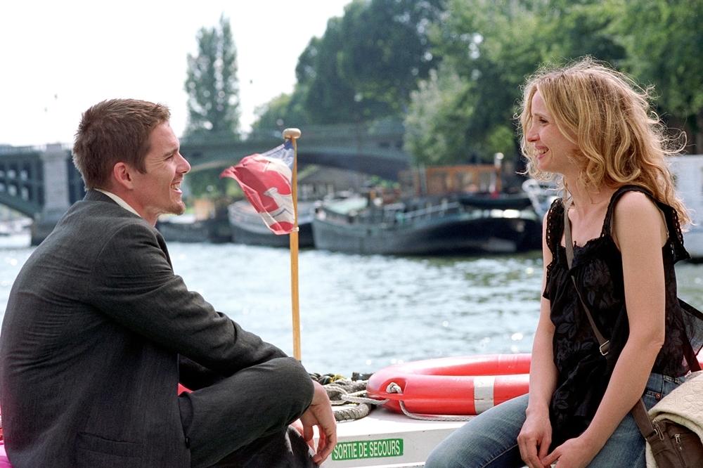 Jesse và Celine tình cờ gặp lại nhau ở Paris trong phim ''Before Sunset''