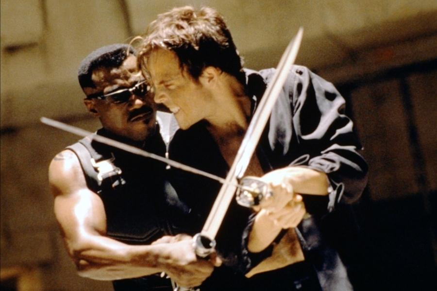 Tuy nhiên, anh lại căm thù những kẻ đồng loại muốn cai trị con người và sẵn sàng chiến đấu chống lại chúng trong phim ''Blade''