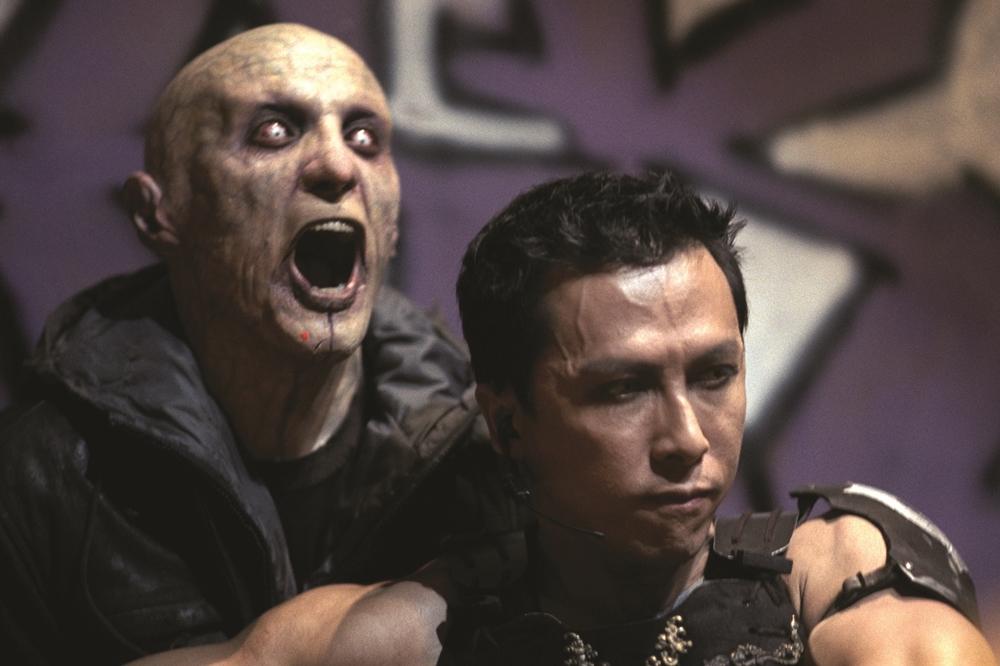 Chân Tử Đan góp mặt trong phim ''Blade II''