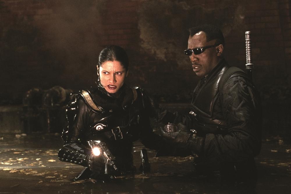 Trong phim, Blade phải đối mặt với loài ma cà rồng đột biến Reaper