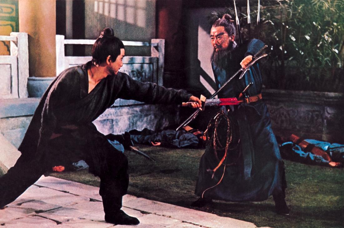 Phương Canh quyết đấu với Trường Tí Thần Ma.