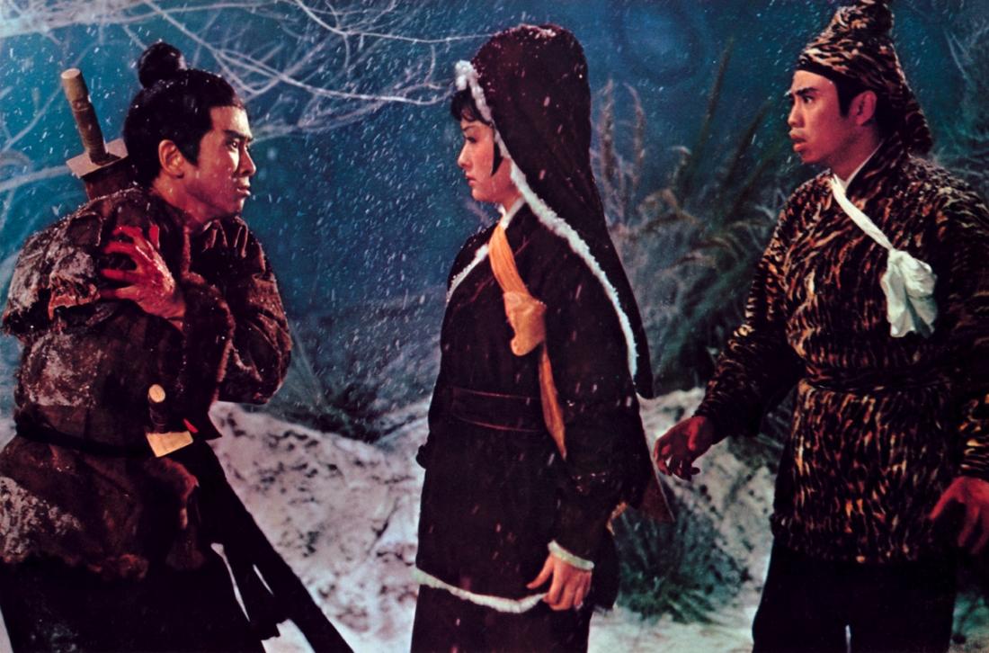 Trong rừng, Tề Bội đã chặt đứt cánh tay phải của Phương Canh.