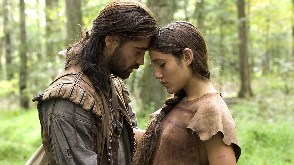 John Smith và công chúa đã có một tình yêu đẹp.