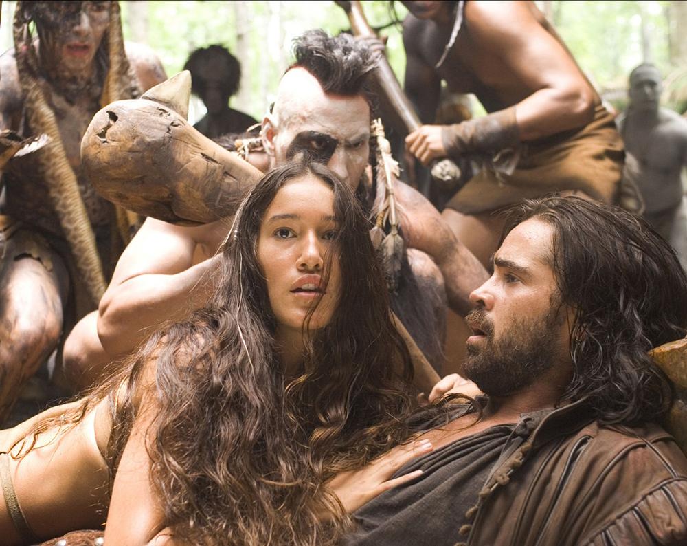 Công chúa da đỏ đã xin cha tha mạng cho John Smith.