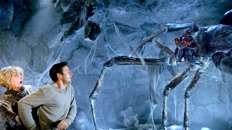 Một cảnh trong phim ''Eight Legged Freaks''.