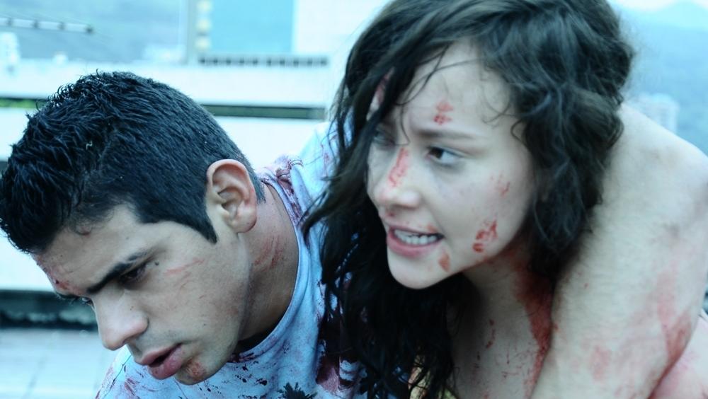 Một phân cảnh đẫm máu khác trong phim ''180 Seconds''