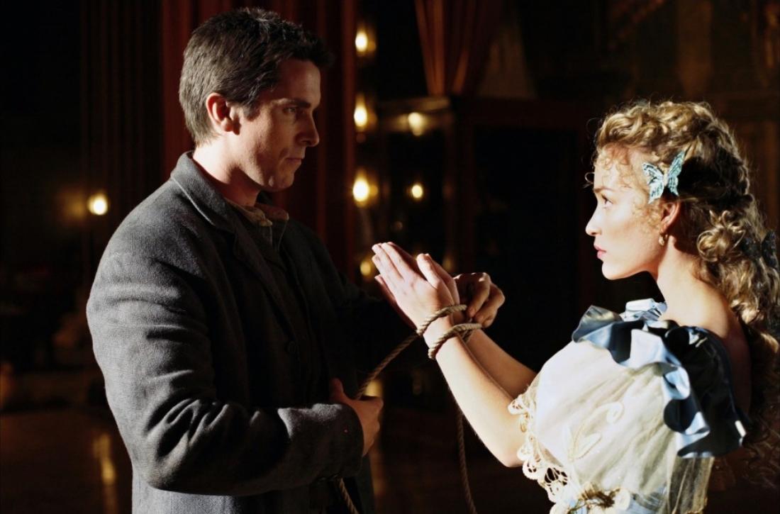 Một cảnh trong ''The Prestige''.