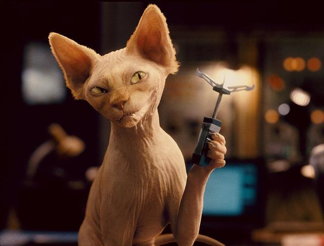 Mụ mèo hiểm độc Kitty Galore.