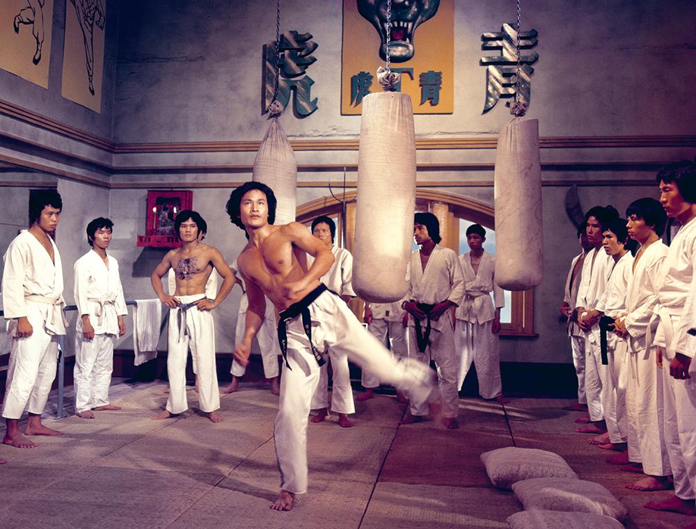 Một cảnh trong phim ''Chinatown Kid''.