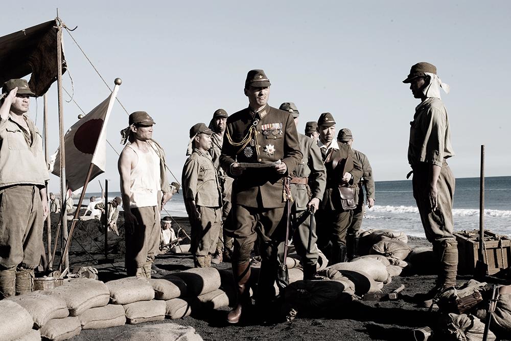 Một cảnh trong phim ''Letters From Iwo Jima''.